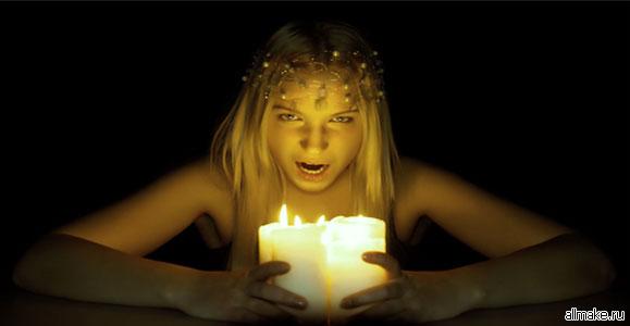 Обряд посвящения в ведьмы
