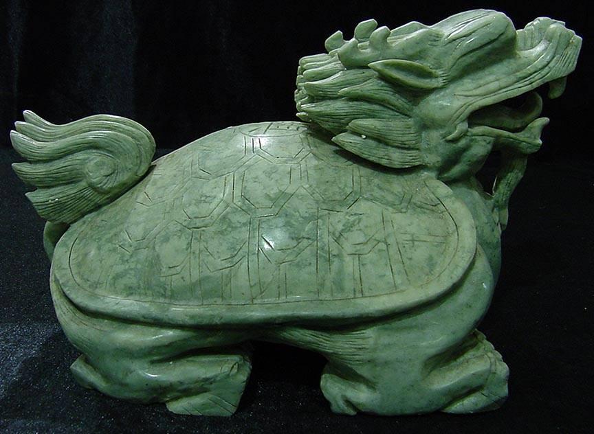 Черепаха дракон